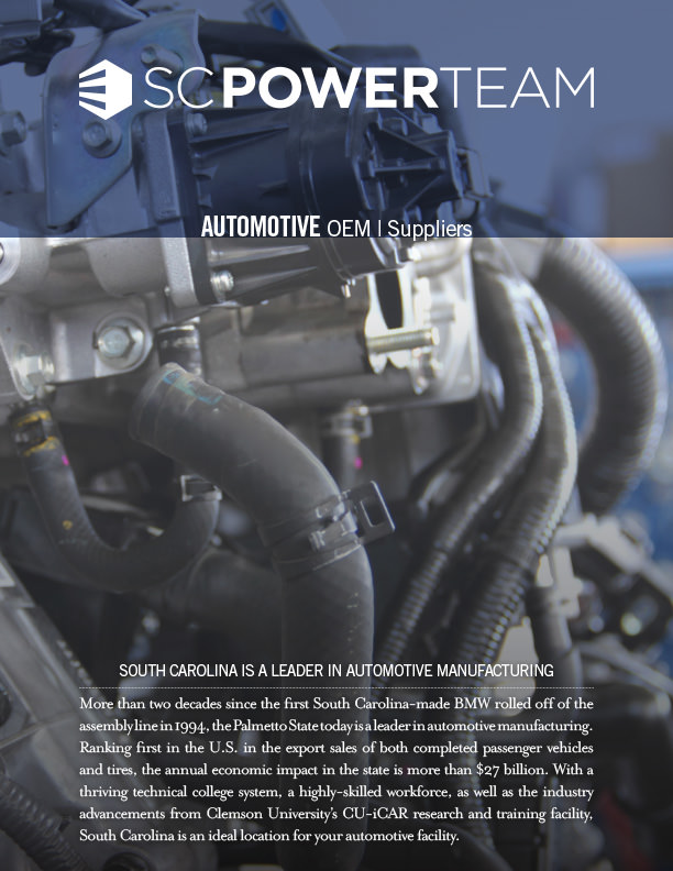 SC Power Team Automotive Brochure